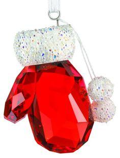 Swarovski Christmas Ornaments, Christmas Figurines, Swarovski Crystal Figurines, Swarovski Crystals, Christmas Colors, Christmas Bulbs, Christmas Deco, Magical Jewelry, Glass Figurines