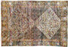 3498 Kundan Collection OD Silk Rug 271x186cm