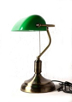 I've always wanted a banker's/library lamp.