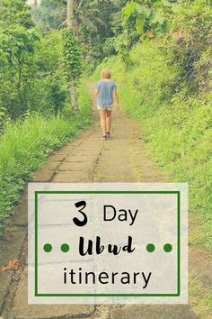 Looking for things to do in Ubud? This 3 day Ubud Itinerary has you covered! Where to stay? Where to eat and how to get to Ubud. Check it out! #campuhanridgewalk #tegenunganwaterfall #tegalalangriceterrace #goagajah #ubud #ubuditinerary