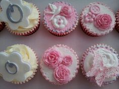 #christeningcupcakes by #chantillycupcakes