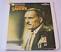 The Great Santini Robert Duvall Warner Home Video CED Video Disc laserdisc Movie