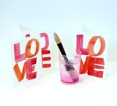 Make Valentine Cards with Watercolor