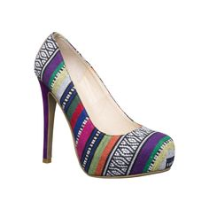 I love the Chinese Laundry Whistle Tapestry Pump from LittleBlackBag