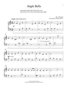 jingle bells keyboard notes pdf