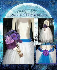 Classical Inspired Ballet Style Wedding Gown by whiteriver51, $350.00