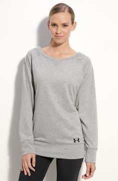 under armour sweatshirt - how comfy does this look? Love all things under amour Nike Under Armour, Under Armour Women, Cute Fashion, Teen Fashion, Fashion Ideas, Casual Outfits, Cute Outfits, Workout Attire, Style Me