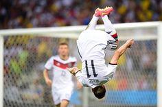 German celebrates matching Ronaldo's World Cup goals record