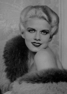 """""""She didn't want to be famous, she wanted to be happy."""" - Clark Gable  Happy Birthday, Harlean Harlow Carpenter, aka Jean Harlow (3rd March 1911 - ∞)"""