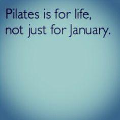 El pilates és per a tota la vida...