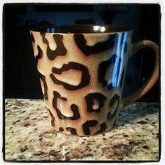 Leopard Print Mug