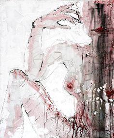 """Saatchi Art Artist Nora Dorian; Painting, """"Under My Skin"""" #art"""