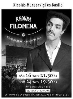 Nicolás Manservigi en A NONNA FILOMENA