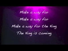 Newsboys - The King is Coming - with lyrics - YouTube