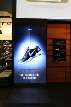 Niketown's ESP video wall by Horizon Display