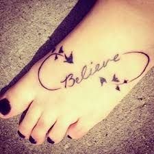 Image result for believe tattoos with birds