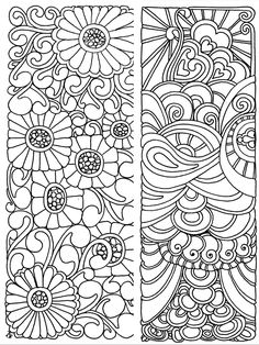 Pin By Jerilyn Lampert On Bookmarks Coloring Pages Coloring Book Pages, Printable Coloring Pages, Coloring Sheets, Zentangle, Book Markers, Mandala Coloring, Stencil, Prints, Printables