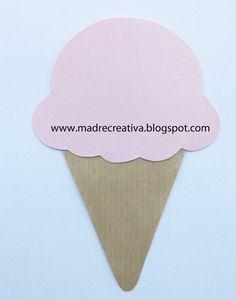 MadreCreativa: Inviti di compleanno a gelato