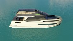 GN47 - Aluminium Hybrid Yacht http://www.greenaval.com/EN/motoryacht/gn47