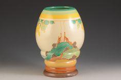 Andrew Muir | Clarice Cliff, Art Deco Pottery, Moorcroft and 20th Century Ceramics Dealerclarice cliff SECRETS 362 VASE C.1933