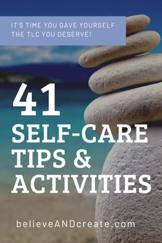 Discover 41 perfect self-care activities and tips. These self-care ideas go beyond the basics and help you feel more fulfilled and at peace in your life. Self-care isn't selfish; self-care is essential to living your very best life. #personalgrowth #loveyourlife #takecareofyourself #selfcareideas #selfcaremindset #selfcarehabits #selfcareformentalhealth #lowcostselfcare Negative Self Talk, Negative Thoughts, Caring For Mums, Self Care Bullet Journal, Building Self Esteem, Learning To Say No, Self Care Activities, Self Compassion