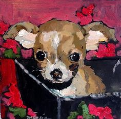 """Daily Paintworks - """"Be Mine"""" - Original Fine Art for Sale - © Marcia Hodges"""