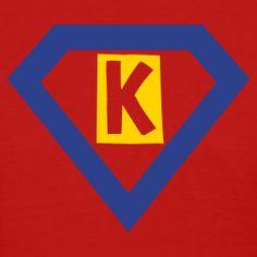 Super K - kindergarten teacher t-shirt!
