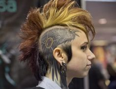 Teresa sharpe head tattoo