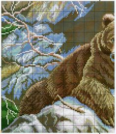 FREE CROSS POINT GRAPHICS: PANDA AND BEARS (24)