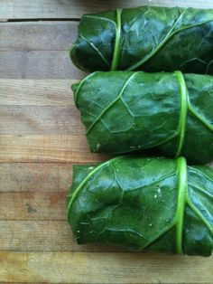 I've done a post with collard wraps before, but I just wanted to remind you how awesome they are. You can literally wrap ANYTHING;Tuna salad, chicken salad, lunch meat with some tomato and avocado...