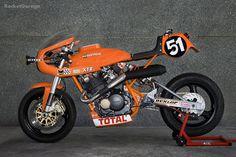 RocketGarage Cafe Racer: Monty XTR Pepo