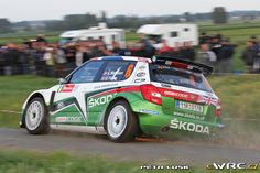 Andreas Mikkelsen; Ola Floene; Škoda Fabia S2000; Geko Ypres Rally 2011 Rally Raid, Skoda Fabia, Cars, Photography, Image, Rally, Photograph, Autos, Fotografie