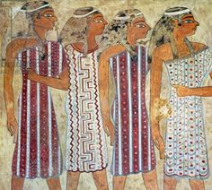 Semite Women on Egyptian Tomb Painting