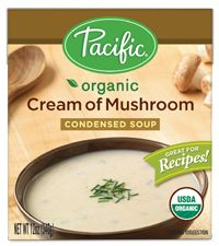 Swap out campbell's cream of mushroom for Pacific organic cream of mushroom... just a little bit more healthier and no MSG, no GMO's , and no preservatives.
