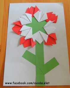 Craft Stick Crafts, Crafts For Kids, Arts And Crafts, Paper Crafts, Independence Day Decoration, India Independence, Origami, Kindergarten Crafts, Alphabet Book