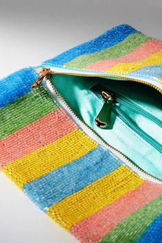Shop the Beaded Pastel Stripes Clutch and more Anthropologie at Anthropologie today. Read customer reviews, discover product details and more.