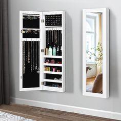 Mirror Jewelry Storage, Mirror Jewellery Cabinet, Jewellery Storage, Jewelry Closet, Jewelry Armoire, Closet Mirror, Mirror Door, Master Closet, Mirror Cabinets