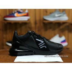 c83db2339337e8 NIKE AIR MAX 270 PREMIUM AO8283 010 Mens Running Shoes Black Grey Top Deals