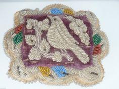 Antique Pin Cushion Native American Mohawk Iroquois Bead Work Whimsey Bird | eBay
