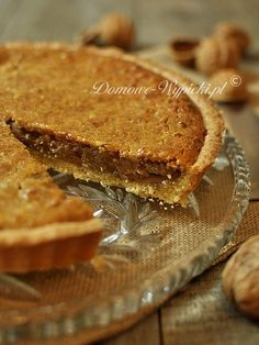 Walnuss-Tarte Walnut tart Sweet potato and walnut tartCreamy walnut pieApple Walnut Cake back Food Cakes, Bakery Cakes, Coconut Recipes, Tart Recipes, Cheesecake Cupcakes, Tarte Vegan, Cupcakes Decorados, Vegan Pie, Easy Smoothie Recipes