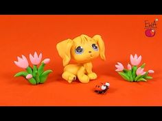 Hi, this time I made puppy from LITTLEST PET SHOP - GOLDEN RETRIEVER. This is my first attempt and I think not the last one :) I've used toothpick because a ...