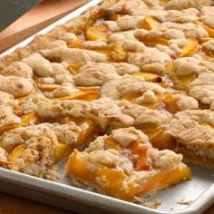 This Peach Slab Pie is Great For a Crowd