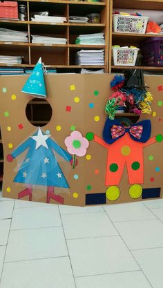Carnival setting wall Best Picture For diy carnival booth For Your Taste You are looking for something, and it is going to tell you exactly what you are looking for, and you didn't find that picture. Kids Crafts, Preschool Crafts, Diy And Crafts, Diy Carnival Games, Carnival Crafts, Carnival Activities, Circus Theme Party, Circus Birthday, Theme Carnaval