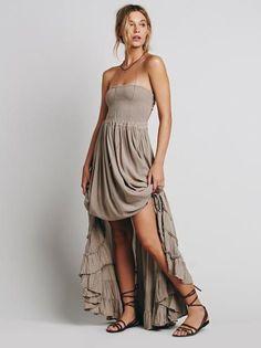 Bohemian Sleeveless Backless Dress
