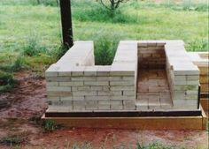 building a wood fired kiln   Firebox: Side of Kiln