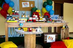 La Fiesta Mini: DPA - Detetives do Prédio Azul Happy Birthday, Party, Home Decor, Blog, Birthday Table, Hampers, Adventure, Pictures, Happy Brithday