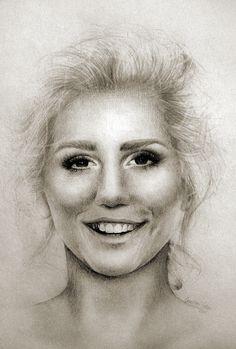 Kesha Rysunek Drawing of Kesha  https://www.facebook.com/grzebiencukru.art