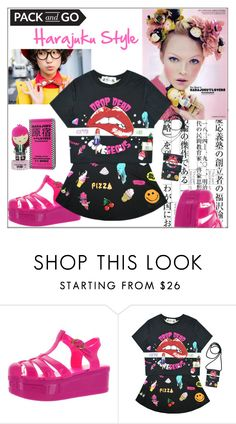 """""""Pack and Go: Tokyo Harajuku Style"""" by pat912 ❤ liked on Polyvore featuring Harajuku Lovers, tokyo, polyvoreeditorial and Packandgo"""