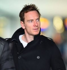 Michael Fassbender# seen arriving at Heathrow Airport, London. 2017.3.12 ​​​​