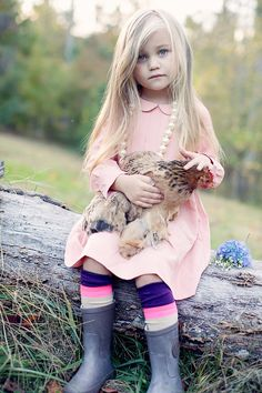 Kid Model, Rooster, Pearls, Love, Anthropologie, Child Model, Farm, Rustic, Photography